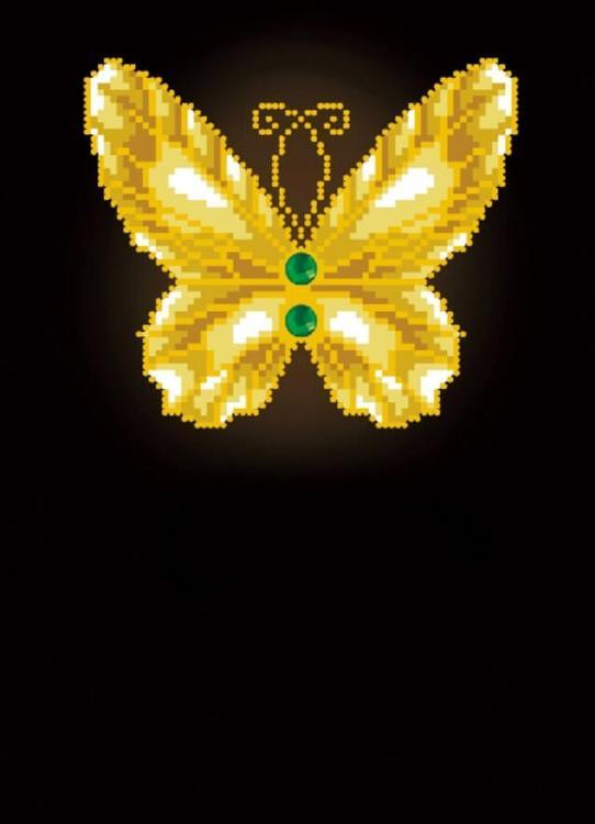 Алмазная вышивка «Бабочка на черном»Цветной<br>Обновленная серия алмазной мозаики от бренда Цветной - это яркие популярные сюжеты и расширенная комплектация качественными составляющими. <br><br><br>Особенности алмазной вышивки от Цветной:<br><br>тканевый холст имеет ярко выраженную приятную на ощупь бархатисту...<br><br>Артикул: C213<br>Основа: Холст на подрамнике<br>Сложность: легкие<br>Размер: 30x40 см<br>Выкладка: Частичная<br>Количество цветов: 6<br>Тип страз: Круглые непрозрачные (акриловые)