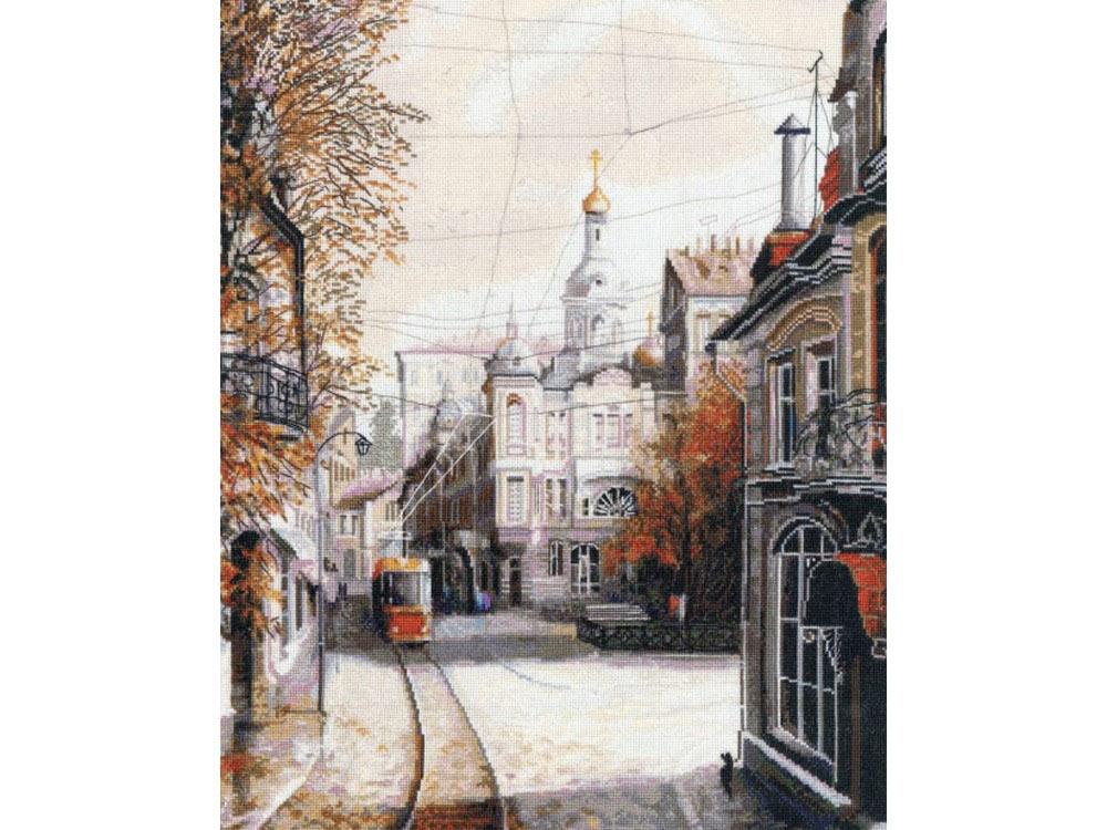 Набор для вышивания «Трамвай желаний» по мотивам картины Александра СтародубоваВышивка крестом<br><br>