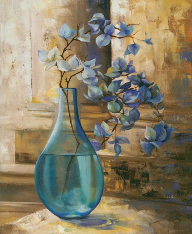 Картина по номерам «Цветочная ветка в вазе»Раскраски по номерам Paintboy (Original)<br><br><br>Артикул: GX4610_R<br>Основа: Холст<br>Размер: 40x50 см<br>Количество цветов: 24-30<br>Техника рисования: Без смешивания красок