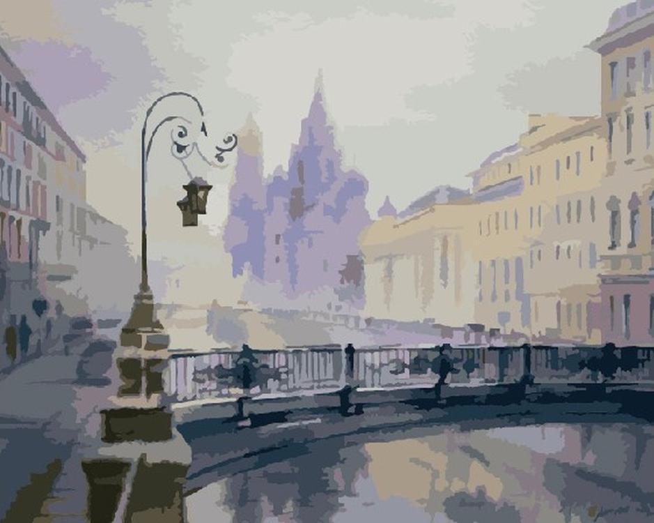 Картина по номерам «Зимний Петербург» Ольги ЛитвиненкоMolly<br><br>