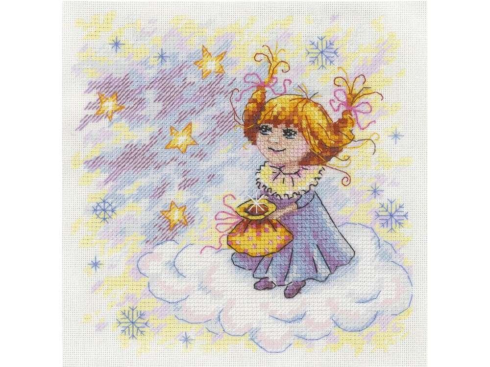 Набор для вышивания «Рождественский ангел»Вышивка крестом МП-студия<br><br><br>Артикул: НВ-607<br>Основа: Linda K27<br>Размер: 17x17 см<br>Техника вышивки: счетный крест<br>Тип схемы вышивки: Цветная схема<br>Цвет канвы: Белый<br>Количество цветов: 20<br>Заполнение: Частичное<br>Рисунок на канве: не нанесён<br>Техника: Вышивка крестом<br>Нитки: мулине 100% хлопок Gamma
