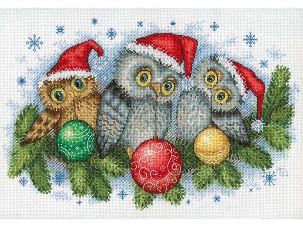 Набор для вышивания «Рождественские помощники»Вышивка крестом МП-студия<br><br><br>Артикул: НВ-641<br>Основа: канва Aida 18<br>Размер: 20x30 см<br>Техника вышивки: счетный крест<br>Тип схемы вышивки: Цветная схема<br>Цвет канвы: Белый<br>Количество цветов: 25<br>Заполнение: Частичное<br>Рисунок на канве: не нанесён<br>Техника: Вышивка крестом<br>Нитки: мулине 100% хлопок Gamma