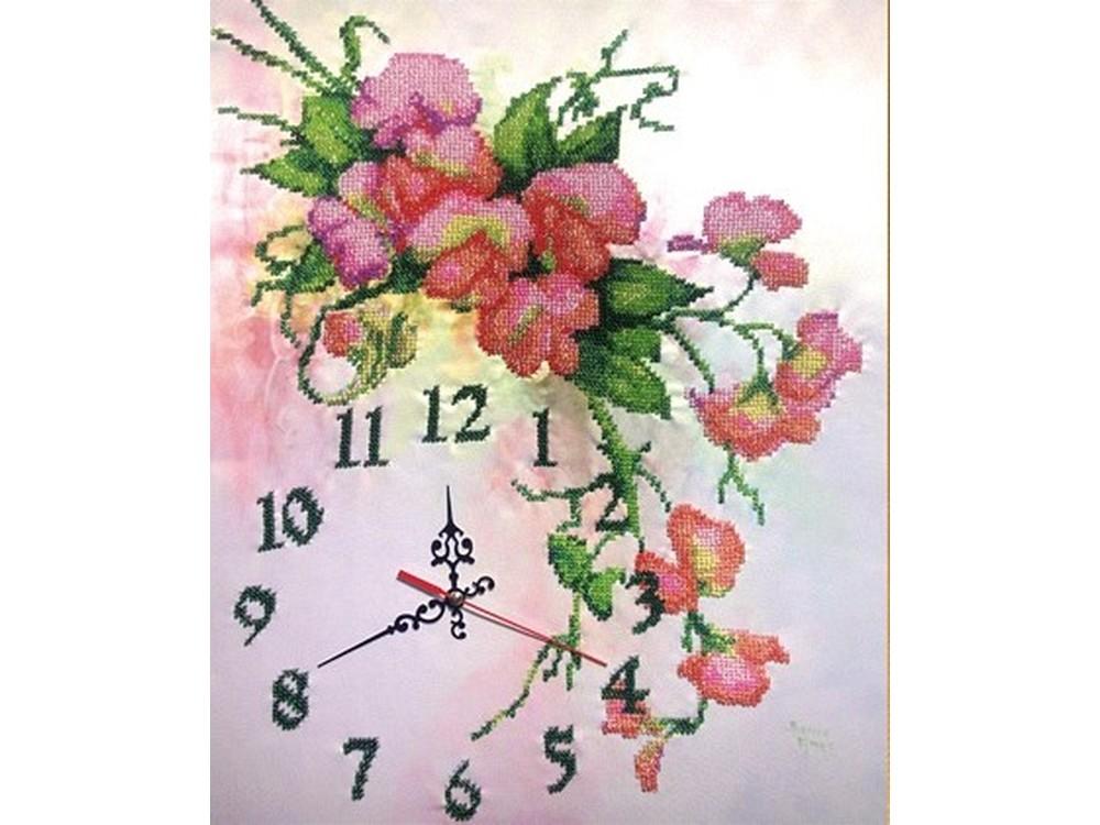 Набор вышивки бисером «Часы Нежность»