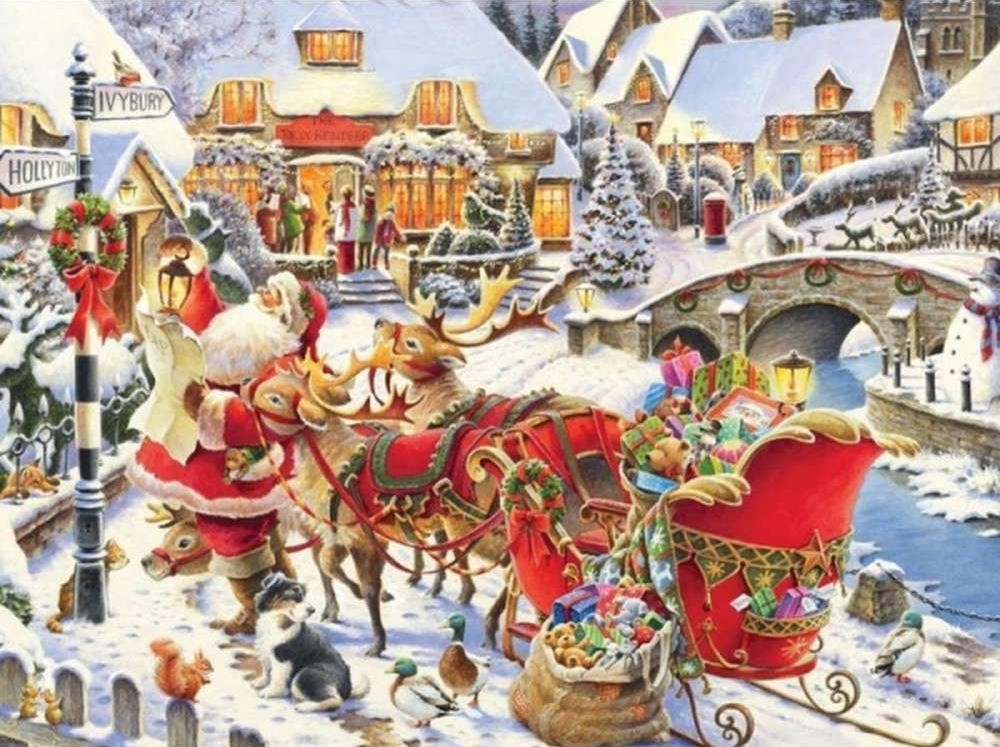 Картина по номерам «Санта Клаус»Раскраски по номерам Color Kit<br><br><br>Артикул: KS015<br>Основа: Картон<br>Сложность: сложные<br>Размер: 30x40 см<br>Количество цветов: 16<br>Техника рисования: Без смешивания красок