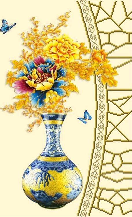 Алмазная вышивка «Осенний букет»Цветной<br>Обновленная серия алмазной мозаики от бренда Цветной - это яркие популярные сюжеты и расширенная комплектация качественными составляющими. <br><br><br>Особенности алмазной вышивки от Цветной:<br><br>тканевый холст имеет ярко выраженную приятную на ощупь бархатисту...<br><br>Артикул: M9417<br>Основа: Холст на подрамнике<br>Сложность: сложные<br>Размер: 50x65 см<br>Выкладка: Частичная<br>Количество цветов: 20-35<br>Тип страз: Круглые непрозрачные (акриловые)