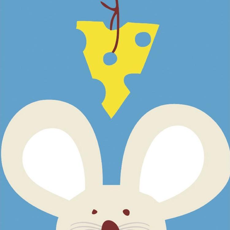 Картина по номерам «Мышка»Раскраски по номерам Menglei (Standart)<br><br><br>Артикул: MB016_S<br>Основа: Холст<br>Сложность: легкие<br>Размер: 25x25 см<br>Количество цветов: 10-15<br>Техника рисования: Без смешивания красок