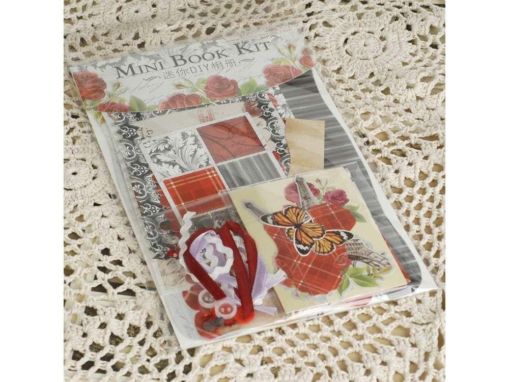 Набор для скрапбукинга «Париж и красные розы - Фотоальбом mini»