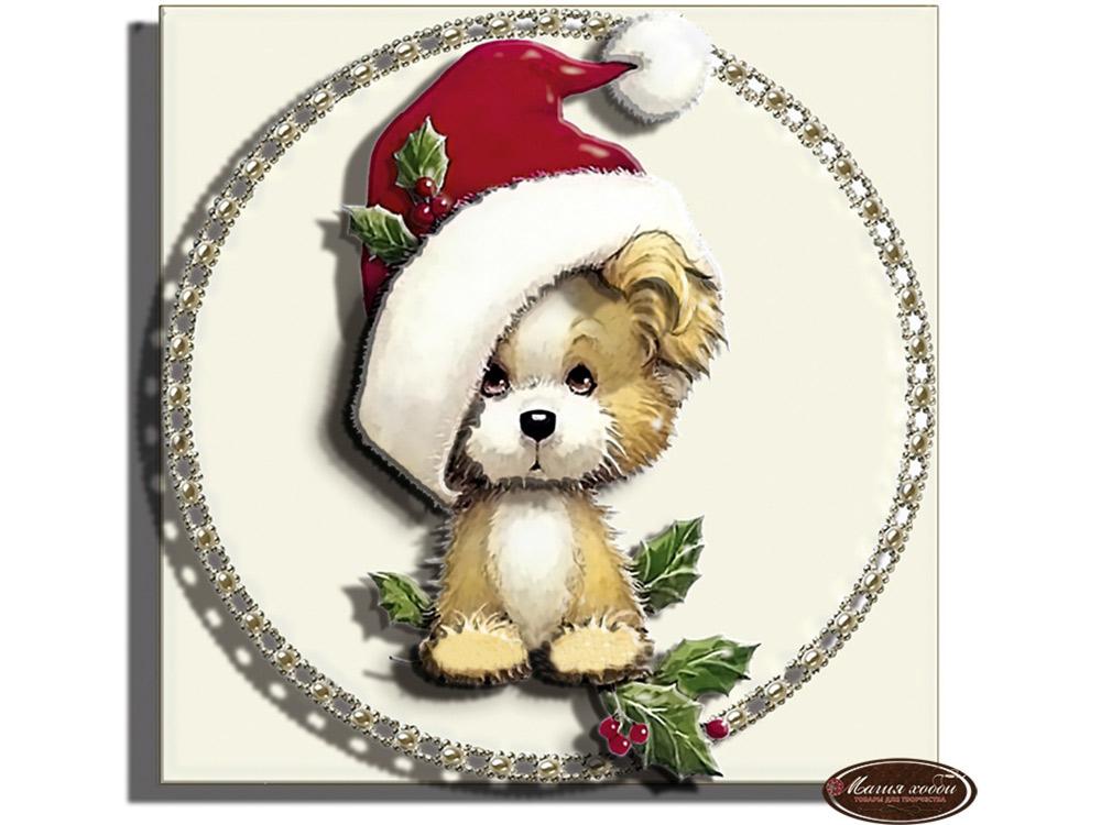 Папертоль «Новогодний щенок»