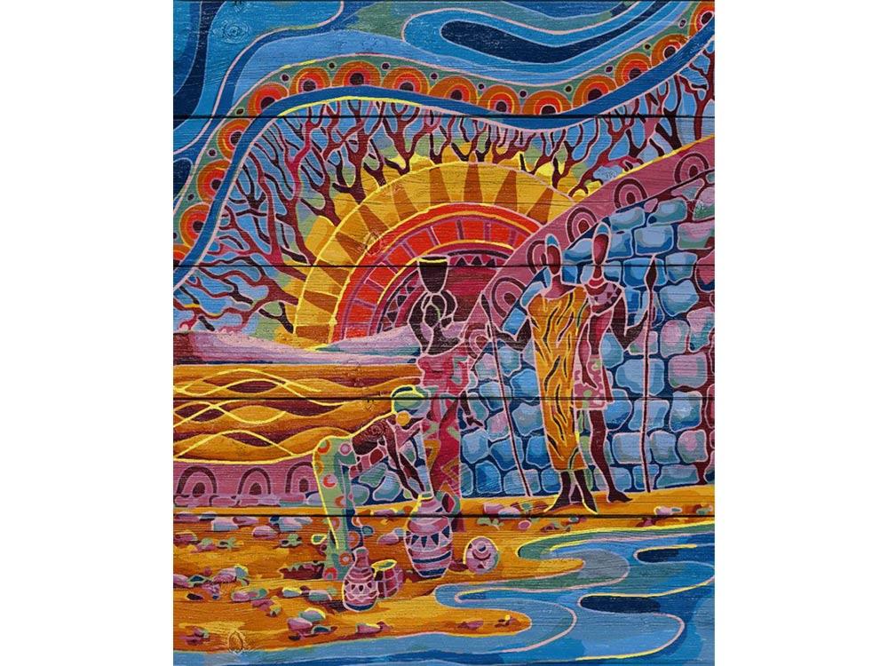 Картина по номерам по дереву Dali «Этника»Картины по номерам по дереву Dali<br><br><br>Артикул: WS012<br>Основа: Деревянное панно<br>Сложность: очень сложные<br>Размер: 40x50 см<br>Количество цветов: 24-30
