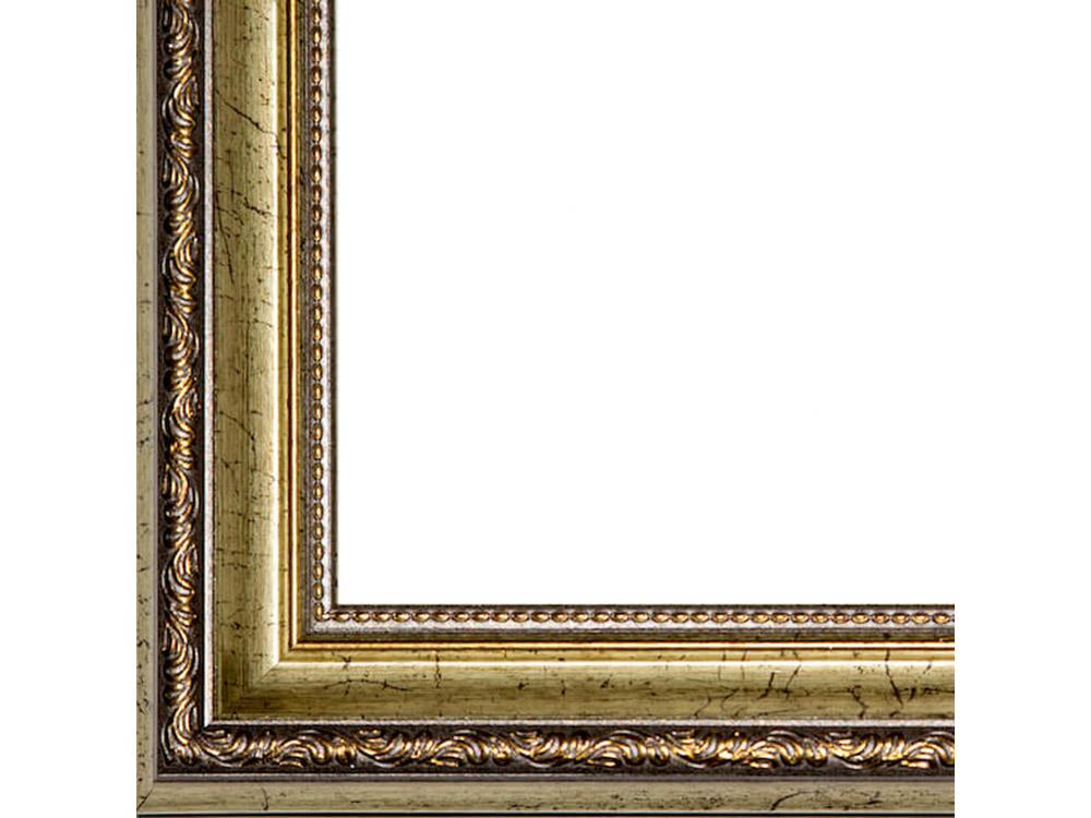 Рамка без стекла для картинБагетные рамки<br>Лист ДВП предназначен для защиты рамки от случайного удара, поэтому он выходит за пределы багета. Также углы рамки дополнительно упакованы в картонные уголки. Весь комплект упакован в термоусадочную пленку.<br><br>Артикул: BG037<br>Размер: 40x50 см<br>Цвет: Состаренная бронза<br>Ширина: 35 мм<br>Материал багета: Пластик<br>Толщина: 25 мм<br>Глубина багета: 12 мм