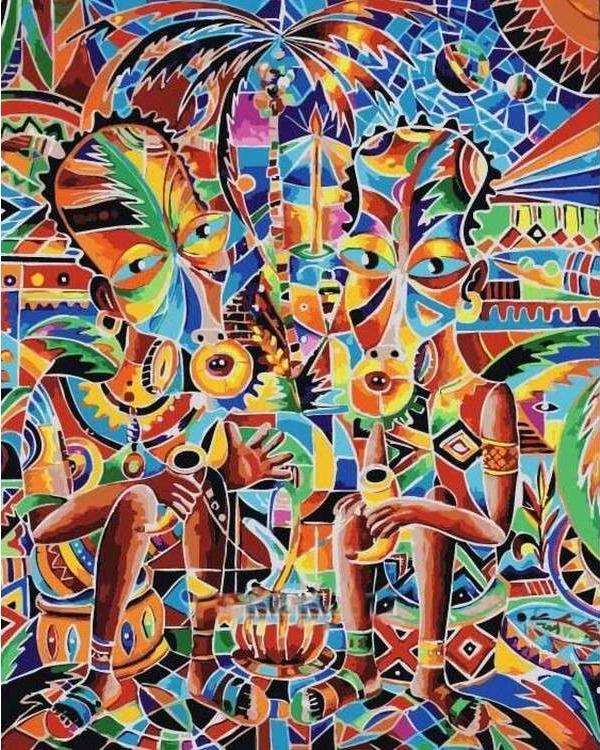 Картина по номерам «Беседа» Николая ПахомоваРаскраски по номерам Paintboy (Original)<br><br><br>Артикул: GX21369_R<br>Основа: Холст<br>Сложность: средние<br>Размер см: 40x50<br>Количество цветов: 23<br>Техника рисования: Без смешивания красок