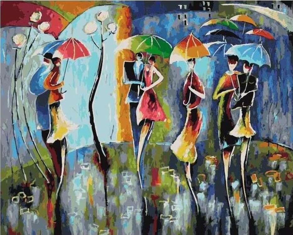 Картина по номерам «Ночная радуга» Николая ПахомоваРаскраски по номерам Paintboy (Original)<br><br><br>Артикул: GX21373_R<br>Основа: Холст<br>Сложность: сложные<br>Размер см: 40x50<br>Количество цветов: 24-30<br>Техника рисования: Без смешивания красок
