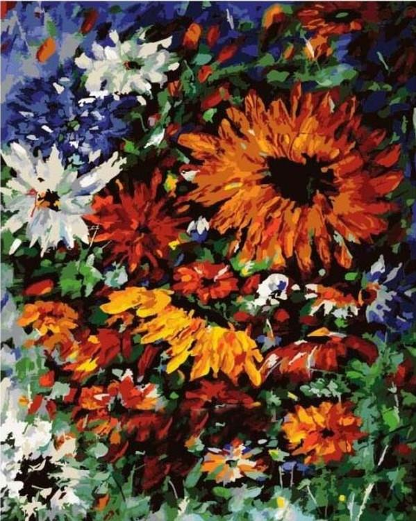 Картина по номерам «Цветы Прованса» Николая ПахомоваРаскраски по номерам<br><br>