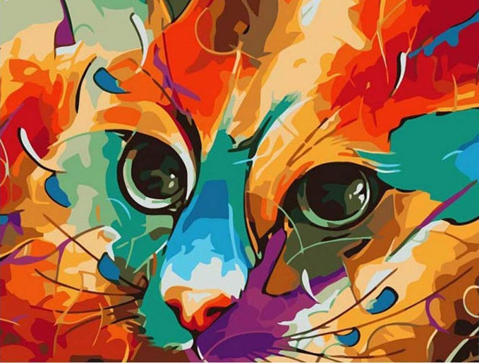 Картина по номерам «Арт-кот» Наушада ВахидаPaintboy (Premium)<br><br><br>Артикул: GX4858<br>Основа: Холст<br>Сложность: средние<br>Размер: 40x50 см<br>Количество цветов: 26<br>Техника рисования: Без смешивания красок