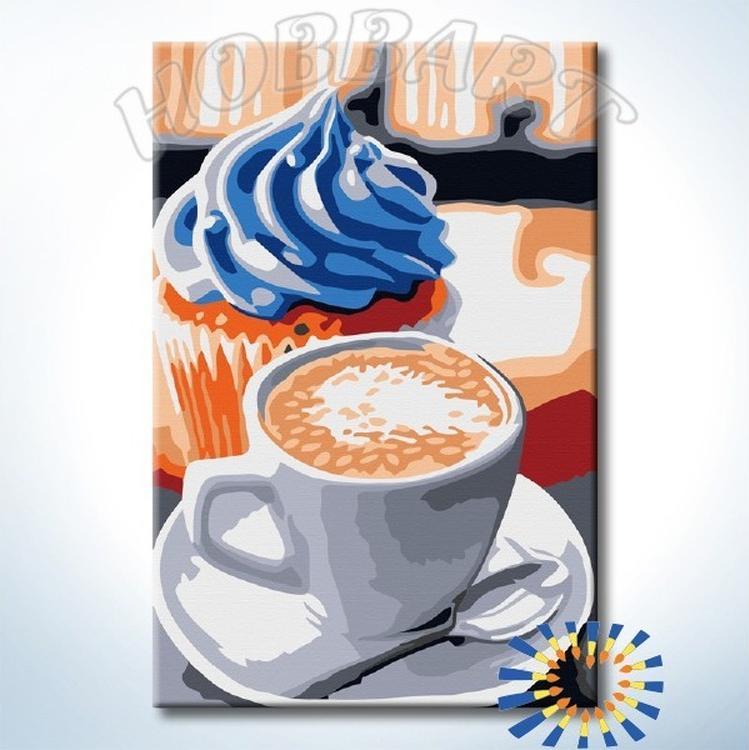 Картина по номерам «Лучший завтрак»Раскраски по номерам<br><br>