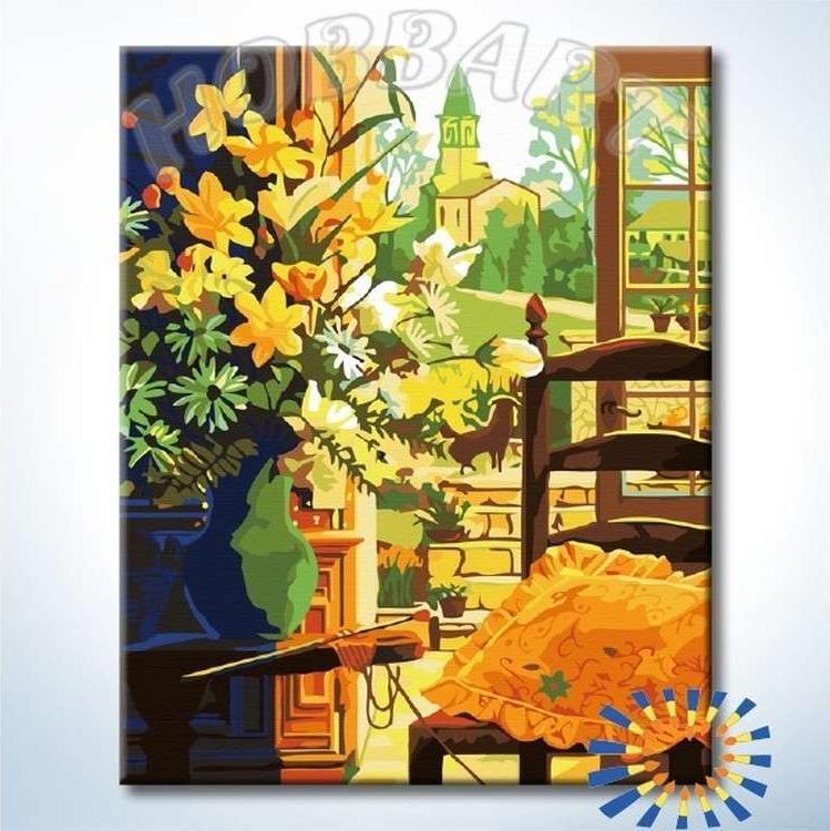 Картина по номерам «Английский полдень» Теппеи Сасакура