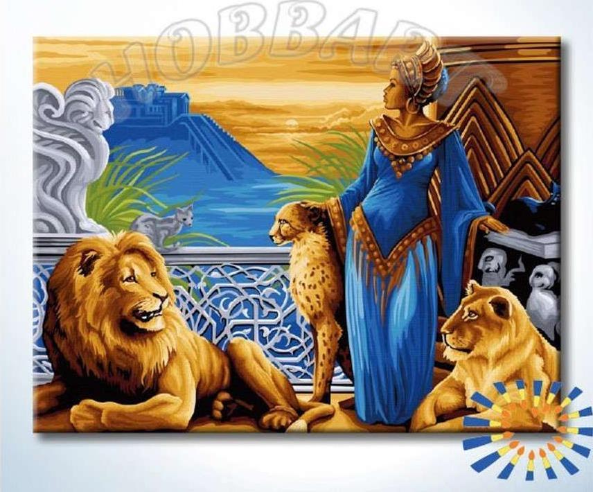 Картина по номерам «Мечты об Атлантиде»