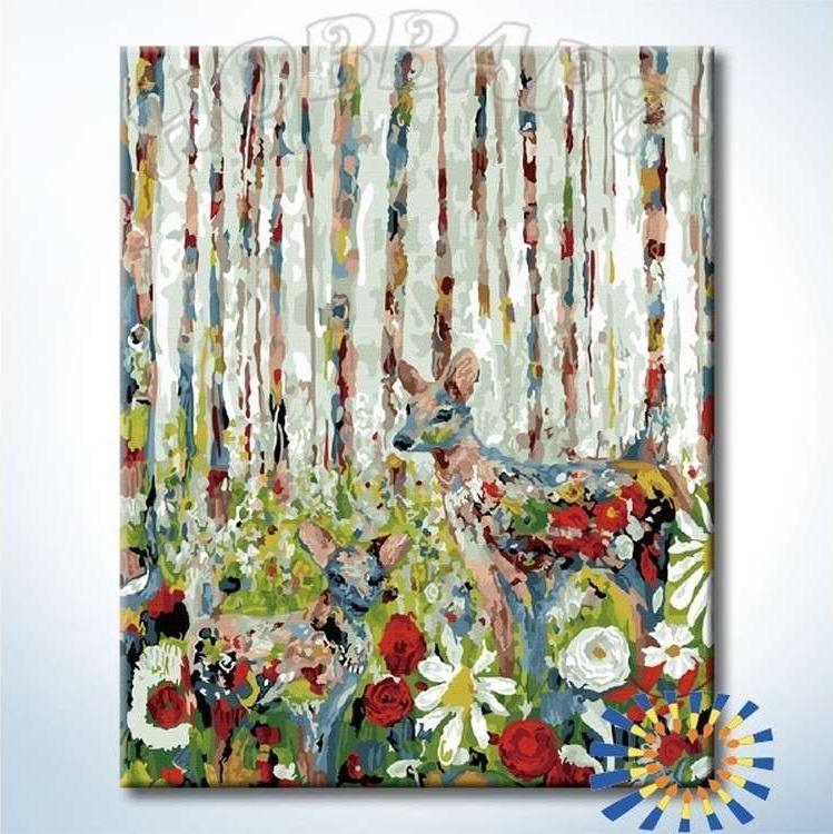 Картина по номерам «В сказочном лесу»