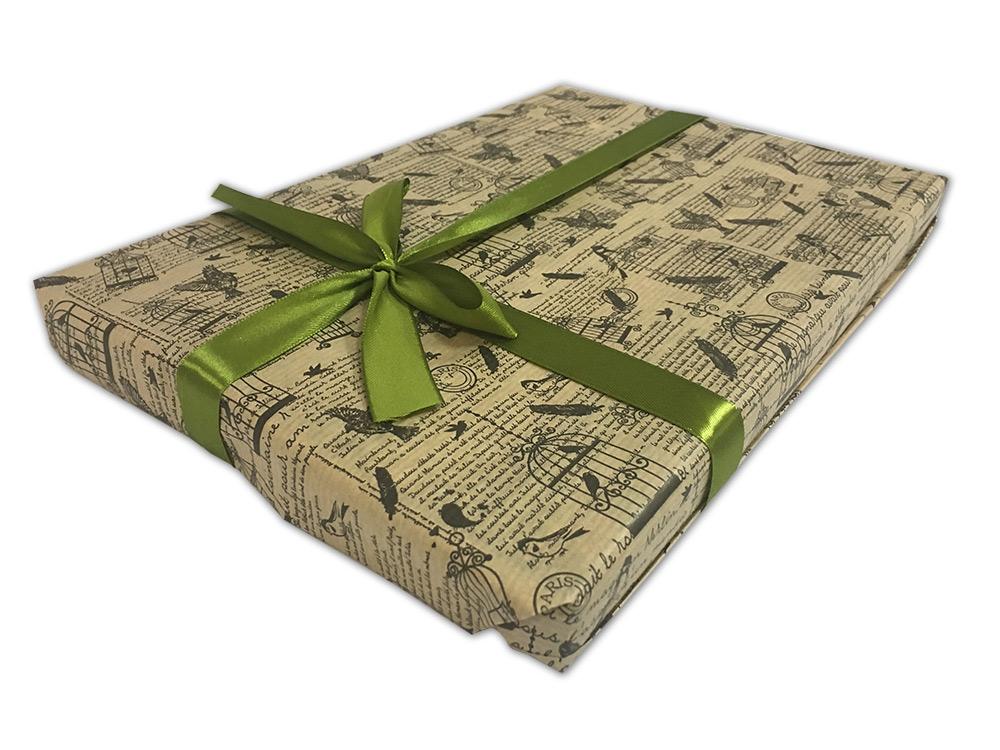 Подарочная упаковка «Вдохновение»Упаковка подарков<br>Как упаковать подарок?<br>Мы можем упаковать отдельный товар или весь заказ с несколькими товарами. Для этого:<br><br>Добавьте в корзину товары, которые хотите приобрести;<br>Добавьте в корзину нужное количество подарочных упаковок;<br>Оформите заказ;<br>При подтверж...<br><br>Артикул: P03