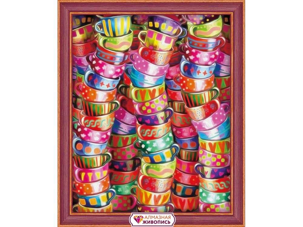 Алмазная вышивка «Яркое чаепитие»Алмазная вышивка<br><br>