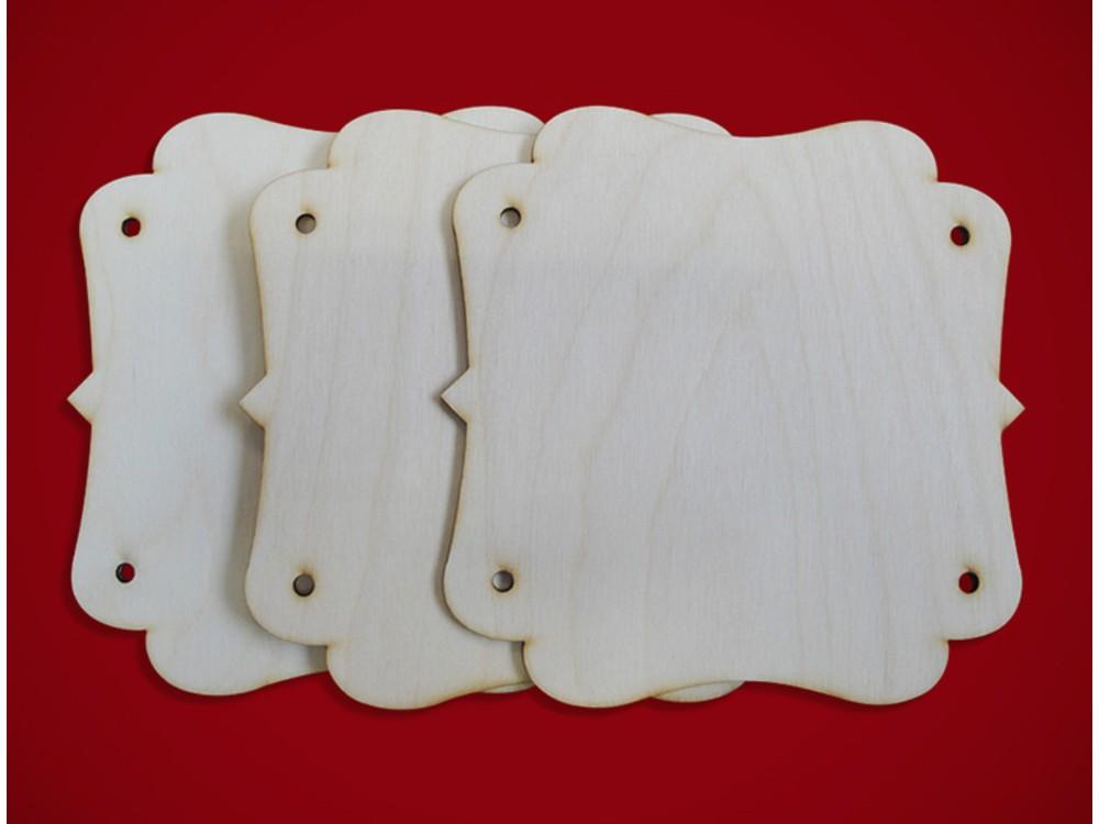 Деревянные заготовки для эбру - Панно 6, Integra Art