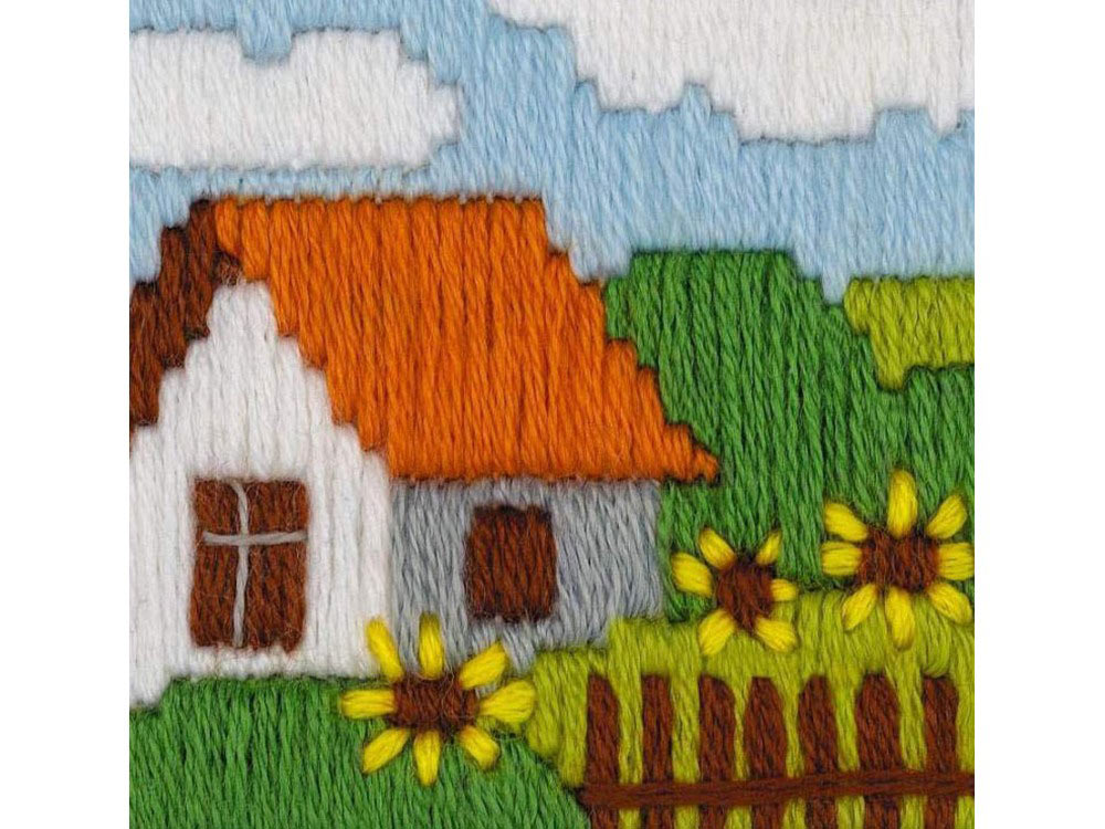Набор для вышивания «Подсолнухи»Вышивка крестом Риолис<br><br>
