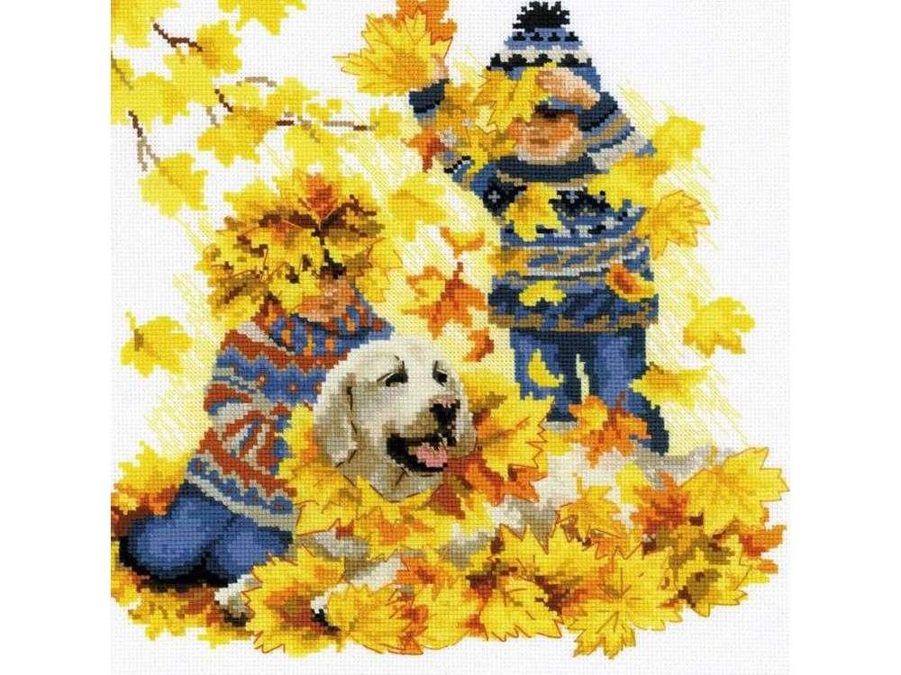 Набор для вышивания «Осенние каникулы»Вышивка крестом Риолис<br><br><br>Артикул: 1694<br>Основа: канва 14 Aida Zweigart<br>Размер: 30x30 см<br>Техника вышивки: счетный крест<br>Серия: Риолис (Сотвори Сама)<br>Тип схемы вышивки: Цветная схема<br>Цвет канвы: Белый<br>Количество цветов: 24<br>Художник, дизайнер: Анна Король<br>Размер упаковки: 21x27x1 см<br>Заполнение: Частичное<br>Рисунок на канве: не нанесён<br>Техника: Вышивка крестом<br>Нитки: шерсть/акрил Safil