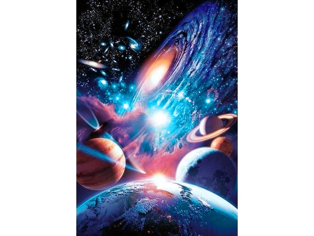Алмазная вышивка «Вселенная бесконечна»Алмазная вышивка<br><br>