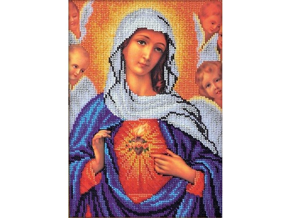 Набор вышивки бисером «Дева Мария»Вышивка бисером<br><br>