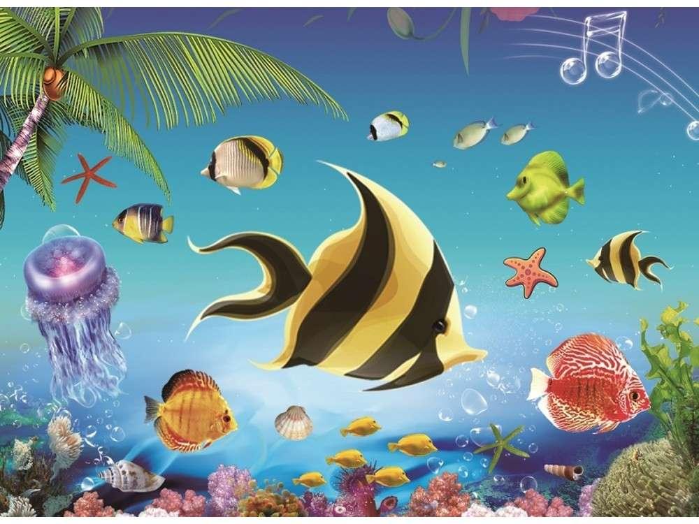 Мозаика из стикеров «Океанариум»Мозаика из стикеров<br><br>