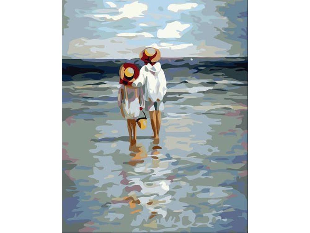 Картина по номерам «Летние каникулы» Цветной (Standart)