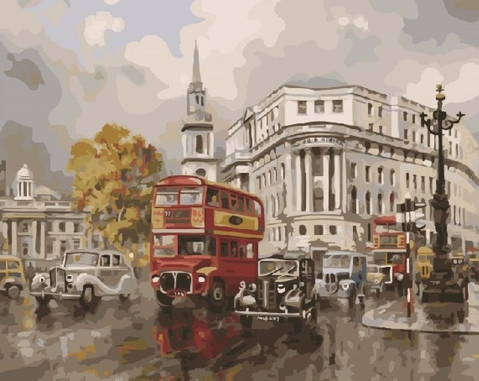Картина по номерам «Старинный Лондон» Джона ЧапменаPaintboy (Premium)<br><br><br>Артикул: GX21171<br>Основа: Холст<br>Сложность: сложные<br>Размер: 40x50 см<br>Художник: Джон Чапмен<br>Количество цветов: 28<br>Техника рисования: Без смешивания красок