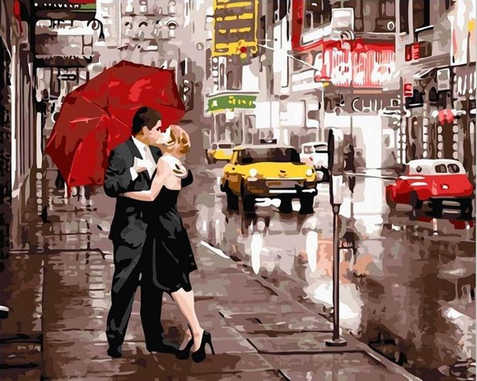Картина по номерам «Вдвоем в Нью-Йорке»Paintboy (Premium)<br><br><br>Артикул: GX5003<br>Основа: Холст<br>Сложность: средние<br>Размер: 40x50 см<br>Количество цветов: 26<br>Техника рисования: Без смешивания красок