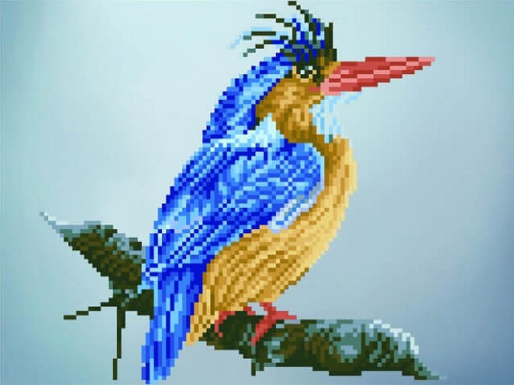 Алмазная вышивка «Птица на ветке»Цветной<br>Обновленная серия алмазной мозаики от бренда Цветной - это яркие популярные сюжеты и расширенная комплектация качественными составляющими. <br><br><br>Особенности алмазной вышивки от Цветной:<br><br>тканевый холст имеет ярко выраженную приятную на ощупь бархатисту...<br><br>Артикул: P14<br>Основа: Холст на подрамнике<br>Сложность: средние<br>Размер: 30x40 см<br>Выкладка: Частичная<br>Количество цветов: 20-35<br>Тип страз: Круглые непрозрачные (акриловые)