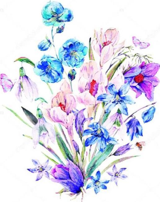 Алмазная вышивка «Букет полевых цветов»Цветной<br>Обновленная серия алмазной мозаики от бренда Цветной - это яркие популярные сюжеты и расширенная комплектация качественными составляющими. <br><br><br>Особенности алмазной вышивки от Цветной:<br><br>тканевый холст имеет ярко выраженную приятную на ощупь бархатисту...<br><br>Артикул: P19<br>Основа: Холст на подрамнике<br>Сложность: средние<br>Размер: 30x40 см<br>Выкладка: Частичная<br>Количество цветов: 20-35<br>Тип страз: Круглые непрозрачные (акриловые)