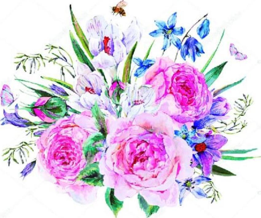 Алмазная вышивка «Букет с пионами»Цветной<br>Обновленная серия алмазной мозаики от бренда Цветной - это яркие популярные сюжеты и расширенная комплектация качественными составляющими. <br><br><br>Особенности алмазной вышивки от Цветной:<br><br>тканевый холст имеет ярко выраженную приятную на ощупь бархатисту...<br><br>Артикул: LEP017<br>Основа: Холст на подрамнике<br>Сложность: средние<br>Размер: 30x40 см<br>Выкладка: Частичная<br>Количество цветов: 25<br>Тип страз: Круглые непрозрачные (акриловые)