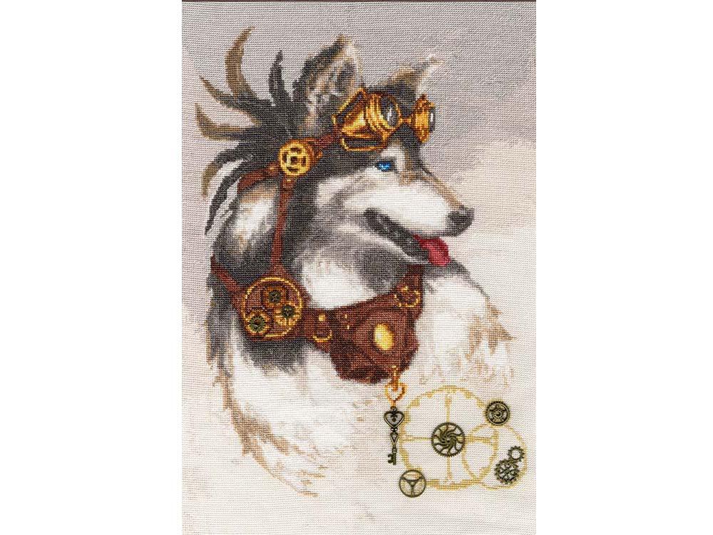 Набор для вышивания «Страж времени» по мотивам картины Елены ШумаковойВышивка крестом<br><br>