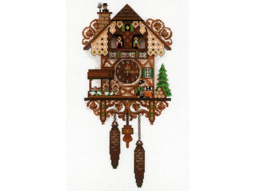 Набор для вышивания «Часы с кукушкой»Вышивка крестом<br><br>