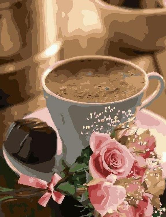 Картина по номерам «Завтрак для любимой»Paintboy (Premium)<br><br><br>Артикул: GX22131<br>Основа: Холст<br>Сложность: средние<br>Размер: 40x50 см<br>Количество цветов: 24<br>Техника рисования: Без смешивания красок