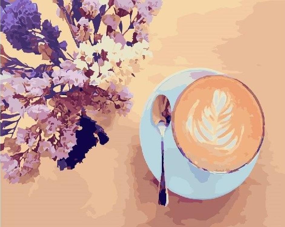 Картина по номерам «Утренний аромат»Paintboy (Premium)<br><br><br>Артикул: GX22206<br>Основа: Холст<br>Сложность: средние<br>Размер: 40x50 см<br>Количество цветов: 26<br>Техника рисования: Без смешивания красок