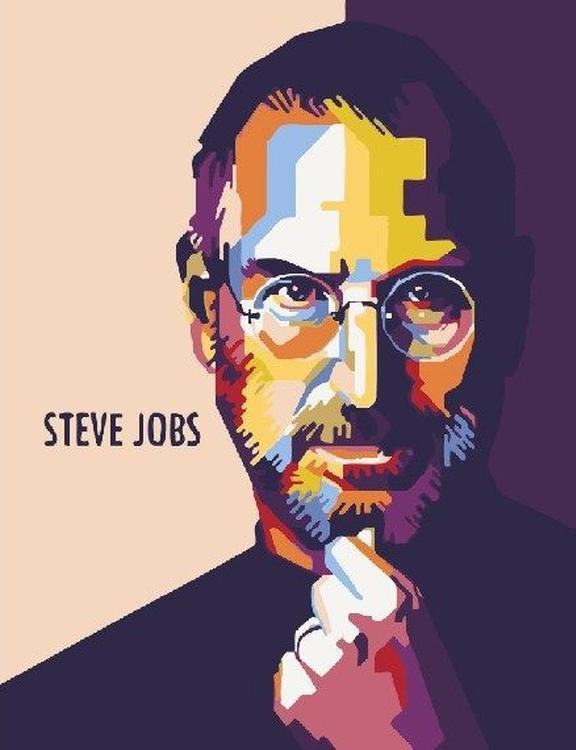 Картина по номерам «Стив Джобс»Paintboy (Premium)<br><br><br>Артикул: GX23090<br>Основа: Холст<br>Сложность: легкие<br>Размер: 40x50 см<br>Количество цветов: 13<br>Техника рисования: Без смешивания красок