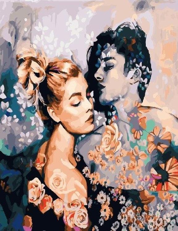 Картина по номерам «В цветочном порыве» Димитры МиланPaintboy (Premium)<br><br><br>Артикул: GX23097<br>Основа: Холст<br>Сложность: сложные<br>Размер: 40x50 см<br>Количество цветов: 28<br>Техника рисования: Без смешивания красок