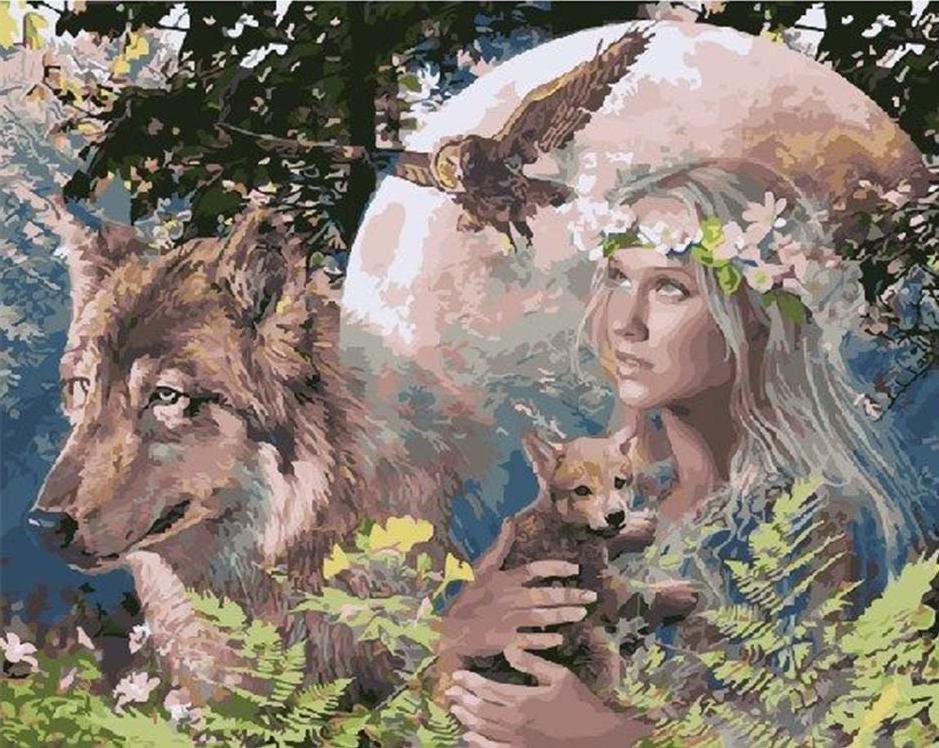 Картина по номерам «Мать-Природа»Paintboy (Premium)<br><br><br>Артикул: GX4292<br>Основа: Холст<br>Сложность: сложные<br>Размер: 40x50 см<br>Количество цветов: 24<br>Техника рисования: Без смешивания красок