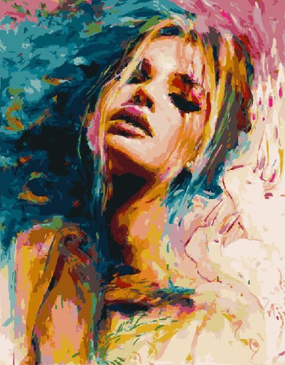 Картина по номерам «Цветные чувства» Оливии ЧармейнPaintboy (Premium)<br><br><br>Артикул: GX4759<br>Основа: Холст<br>Сложность: средние<br>Размер: 40x50 см<br>Количество цветов: 26<br>Техника рисования: Без смешивания красок