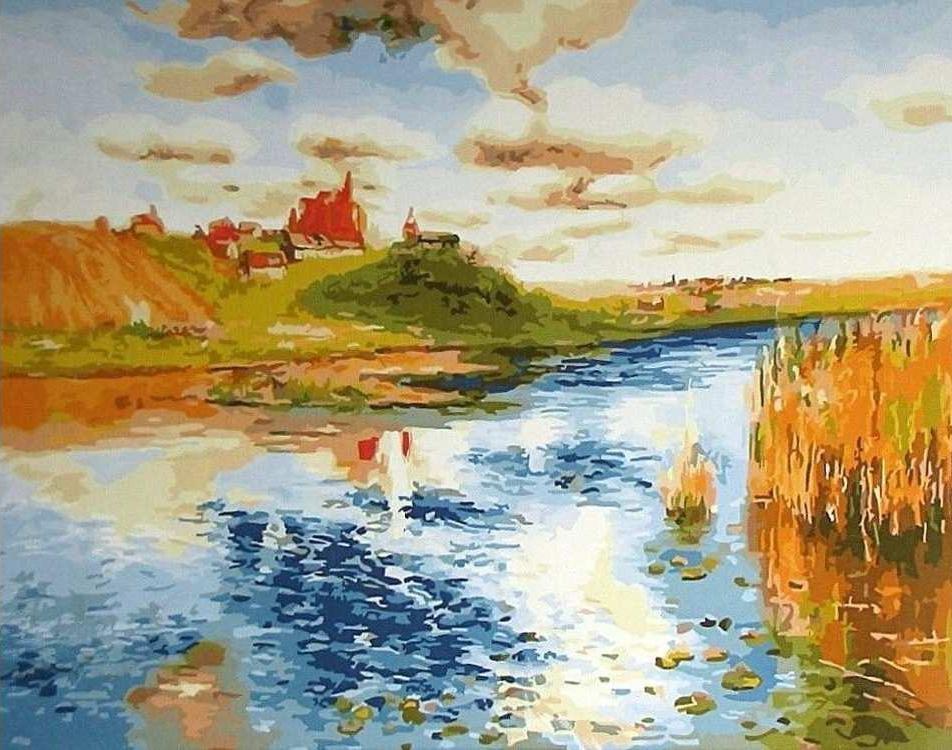 Картина по номерам «Возвращение домой»Раскраски по номерам<br><br>