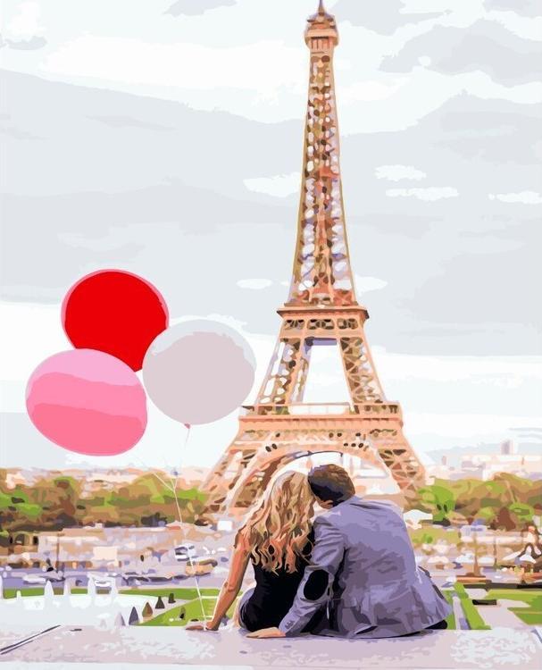 Картина по номерам «Лето в Париже»Paintboy (Premium)<br><br><br>Артикул: GX4886<br>Основа: Холст<br>Сложность: сложные<br>Размер: 40x50 см<br>Количество цветов: 30<br>Техника рисования: Без смешивания красок