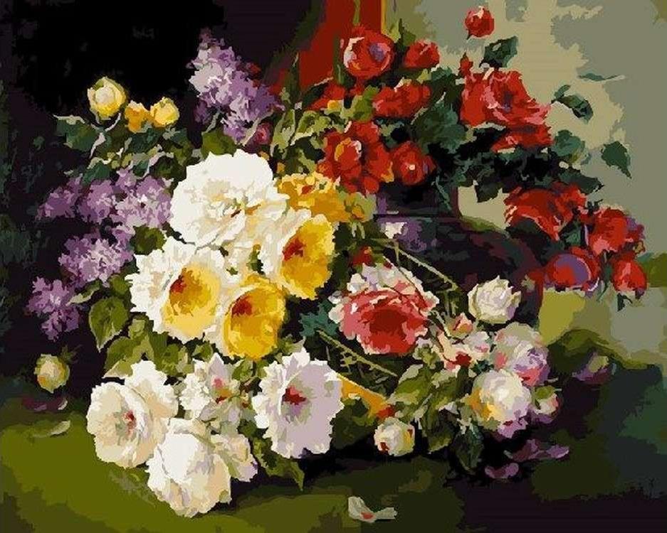 Картина по номерам «Летний аромат» Антона ГорцевичаPaintboy (Premium)<br><br><br>Артикул: GX5429<br>Основа: Холст<br>Сложность: средние<br>Размер: 40x50 см<br>Количество цветов: 27<br>Техника рисования: Без смешивания красок
