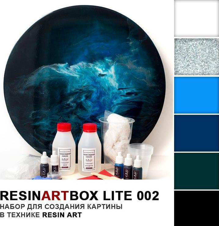Набор для создания картины эпоксидной смолой ResinArtBox 002