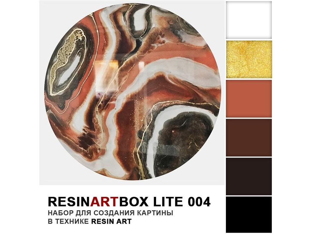 Набор для создания картины эпоксидной смолой ResinArtBox 004