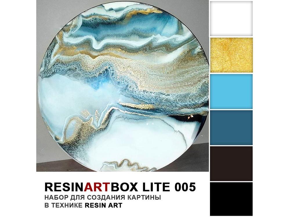 Набор для создания картины эпоксидной смолой ResinArtBox 005